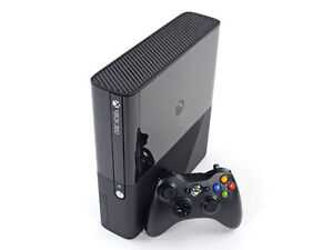 Xbox 360E 250GB with Controller and charging pack $120