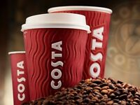 Costa Coffee Hiring - Several Positions - Peebles and Galashiels