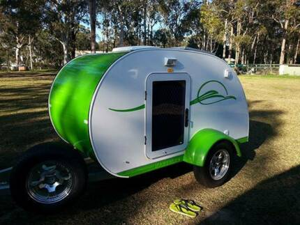 Professionally built Teardrop camper/trailer. Reluctant sale Charlestown Lake Macquarie Area Preview