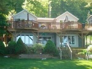 Awesome 4 Bdrm Waterfront Home Has All The Features *Rice Lake*