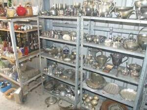 COLLECTIBLES. 5,000 PLUS ITEMS. CHINA, BRASS, COPPER, SILVER, ETC