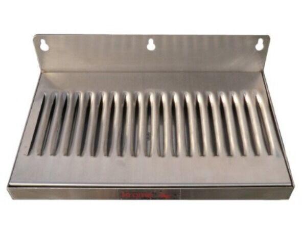 Refrigerator Beer Keg Kegerator Draft Faucet Metal Drip Tray 10x6