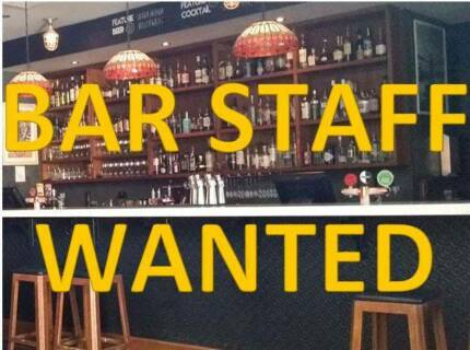 Bar Staff Wanted Mount Lawley Stirling Area Preview