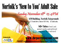 Norfolk's 'New to You' Adult Sale Event