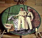 Andy Griffith Plates