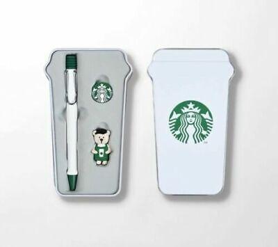 Starbucks Korea 2019 Limited STARBUCKS X LAMY Collabo Bearista Ballpoint Pen SET