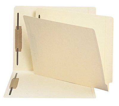 Smead End Tab Fastener File Folder, Shelf-Master Reinforced Straight-Cut Tab, 2  (End Tab Shelf)