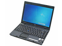 "HP NC6220 14.1"", INTEL 1.73GHz(x1), 2GB, 40GB, WIFI, BLUETOOTH, DVDRW, NEW BATTERY, OFFICE, AVG, W7"