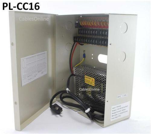 Security Camera Power Supply Box Ebay
