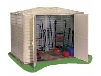 BRAND NEW 8ft x 6ft DURAMAX DURAMATE PLASTIC SHED