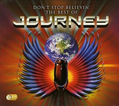 Journey   Dont Stop Believin  The Best Of Journey  New Cd  Uk   Import