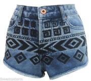 Ladies Denim Shorts Size 12/14