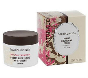 Bare Minerals Purely Nourishing Cream For Dry Skin 1.7oz.
