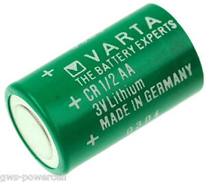 1 x Varta CR1/2AA - lose - 950mAh - 6127101301 - Lithium Batterie CR14250 3V