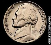 1942 P Jefferson Nickel