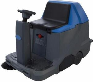 Ride-On Sweeper Electric