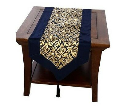 Table Runner With Lights (Bethlehem Lights Battery Operated 6' Damask Table Runner with Timer  )