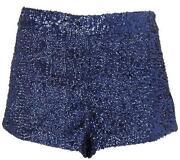 TOPSHOP Sequin Shorts