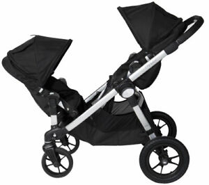 Double stroller City Select with diaper bag+free car seat