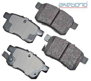 AKEBONO ACT1336 Disc Brake Pad- ProACT Ultra Premium Ceramic Pad, Rear