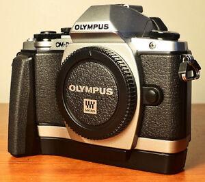 Olympus em10 + grip + lentille 14 42