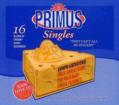 Primus - They Can't All Be Zingers: Best of [New CD] Rmst