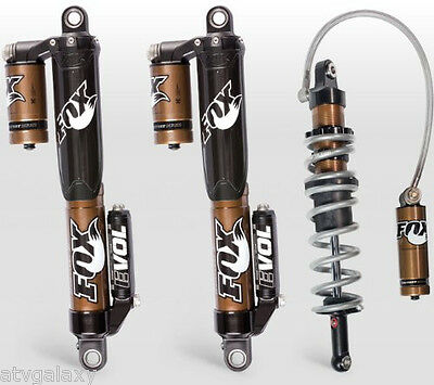 Fox Shocks Front & Rear Factory Series Evol & Podium RC2 Yamaha YFZ450R 2009+