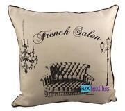 French Linen Cushion