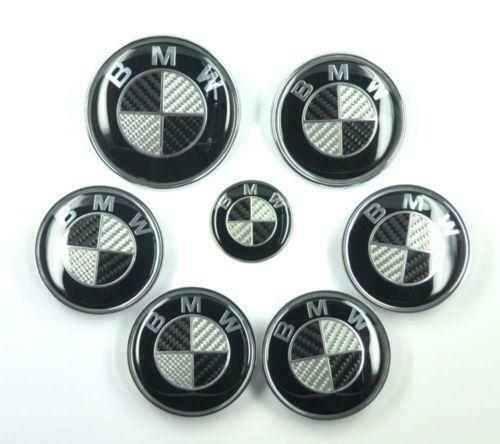 bmw carbon fiber emblem ebay. Black Bedroom Furniture Sets. Home Design Ideas