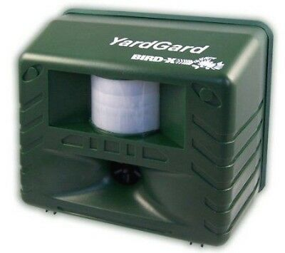 Bird-X Yard Gard Guard Ultrasonic Animal Pest Control Rep...