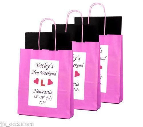 Hen Party Gift Bags