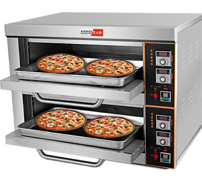 220V/6KW Commercial Electric Baking Oven Professional Pizza Cake Bread Oven for sale  Shipping to Nigeria