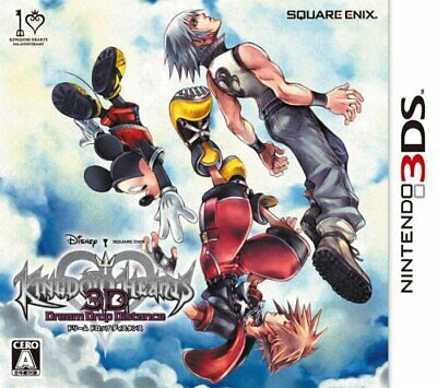 USED 3DS Kingdom Hearts 3D [Dream Drop Distance], usado comprar usado  Enviando para Brazil