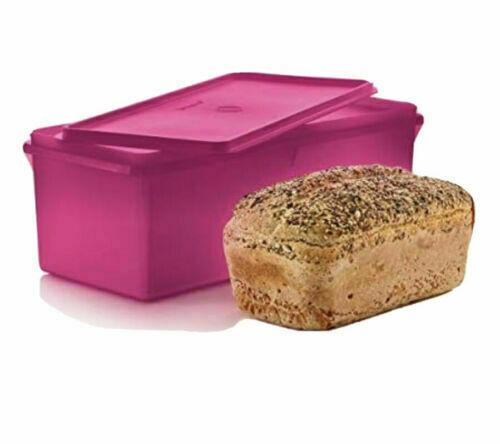 Tupperware Jumbo Bread Box Server Keeper Container Radish NEW BPA Free