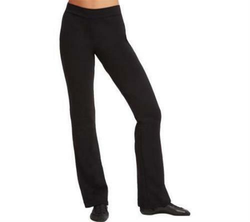 Capezio Adult Black Team Basic Flare Leg Jazz Pant