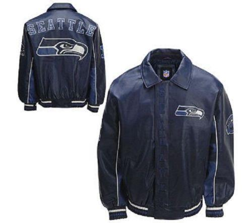 Nfl Leather Jacket Ebay