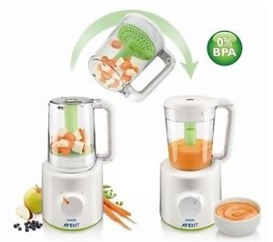Philip Avent combined food steamer and blender