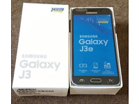 BRAND NEW SAMSUNG GALAXY J3 SM-J320H 2016 GOLD/ BLACK SIM FREE UNLOCKED**