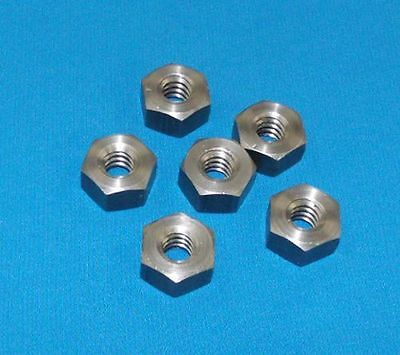 304008-nut 38-12 Acme Hex Nut Steel 6 Pack For Acme Right Hand Threaded Rod