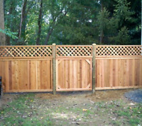 Fences and deck