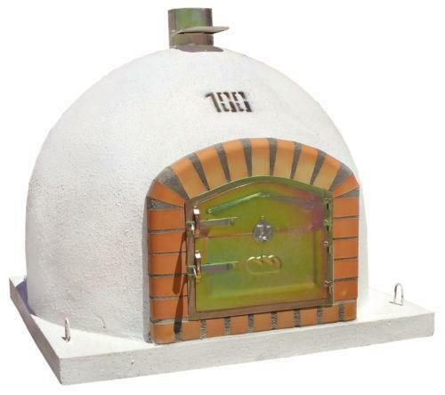 Wood fired pizza oven ebay for Four pizza exterieur