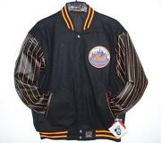 New York Mets Leather Jacket