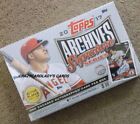 Topps Archives Signature Refractor Sports Trading Boxes
