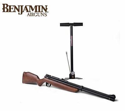 New Crosman Benjamin Discovery .22 Caliber PCP/CO2 Air Rifle Kit BP9M22GP