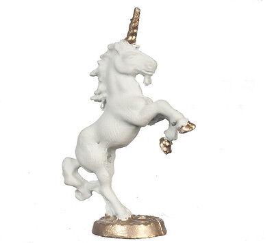 Unicorn Statue, Dolls House Miniature Ornamental Accessory,Ornament. 1.12 Scale