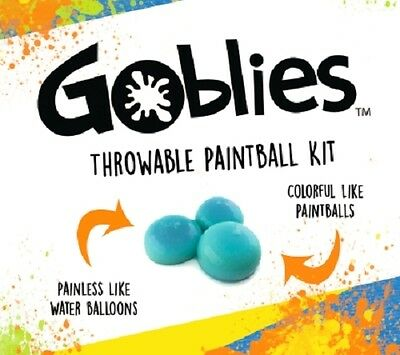 Goblies Hand Thrown Paintballs Non-toxic Bio-degradable Painless Throwable Kit