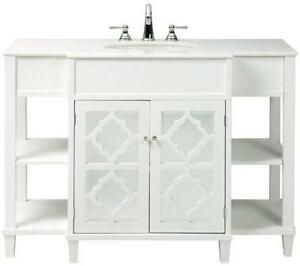48 bathroom vanity white - White Bathroom Cabinets And Vanities