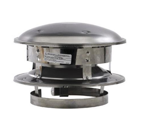 "Selkirk 206800 Stainless Steel Round Chimney Top, 6"""