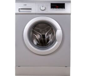 1 YEAR OLD LIKE NEW SPOTLESS & COMPACT SMALL - LOGIK L612WMS17 6kg 1200 Spin Washing Machine Silver