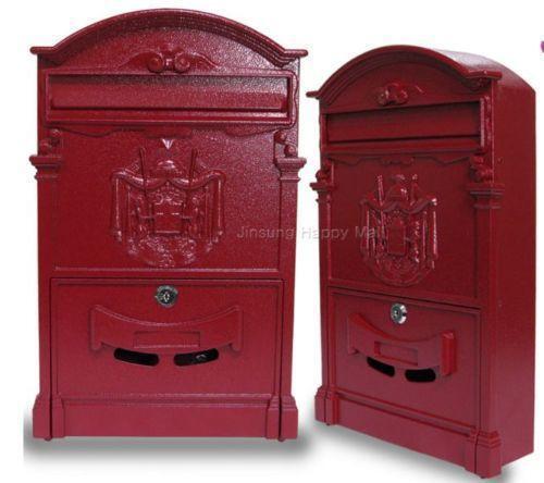 Antique Wall Mount Mailbox Ebay